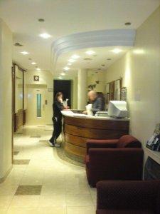 Recepção Hotel Uruguay