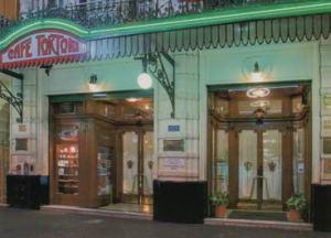 Fachada do Café Tortoni. Foto do site www.cafetortoni.com.ar