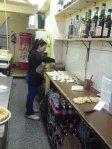 Empanadas feitas na hora