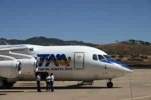 TAM: Transporte Aéreo Militar Boliviano