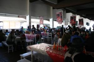 Almoço no Mercado Municipal de Sucre