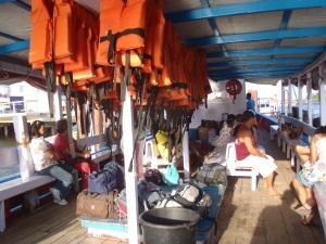 Barco de Camamu para Barra Grande