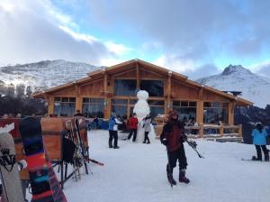 Restaurante e abrigo Cerro Castor