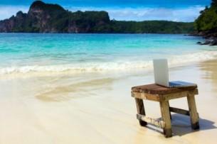 escritorio praia