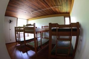 Um lugar limpo e barato para dormir em Floripa